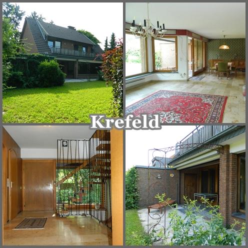 freistehendes Haus in Krefeld Bockum ruhige Lage mit Garage und Kamin verkauft
