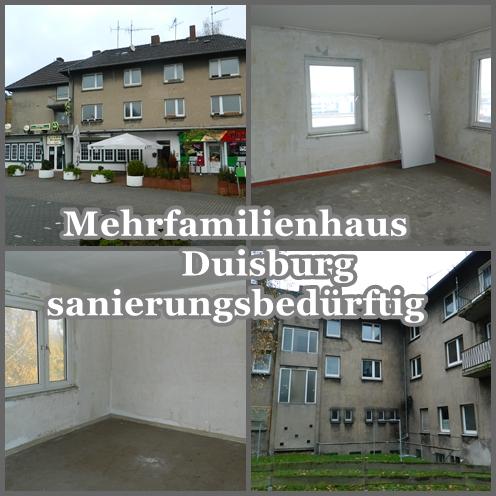 mehrfamilienhaus stark sanierungsbedürftig  mit wohnungen und gewerbe verkauf
